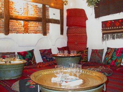 Al jaima cocina del desierto - Decoracion indu ...
