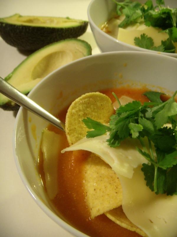 sopa de tomate mexicana receta