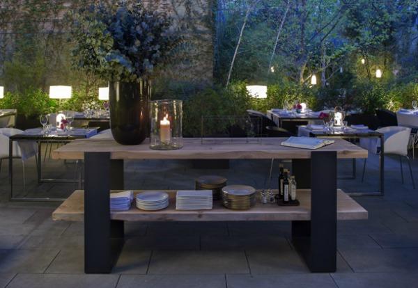 AlmaBarcelona Restaurante ©olga planas Jardin del hotel alma barcelona comerconlila